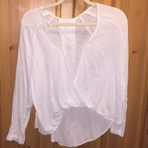 Urban Outfitters Silence&Noise Surplice top small